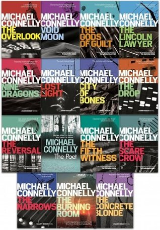 Michael Connelly Collection 15 Books Set