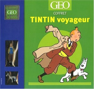 Tintin voyageur : Coffret Tintin grand voyageur du siècle avec 2 figurines