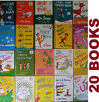 Dr. Seuss's 20 Book SET: The Cat in the Hat , The Cat in the Hat Comes Back , Green Eggs and Ham, Green Eggs and Ham, Hop on Pop, Fox in Socks, The Foot Book .....See full list below