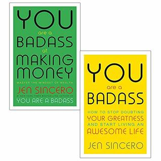 You are a badass and making money 2 books collection set