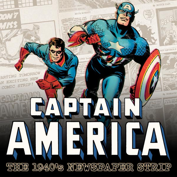 Captain America The 1940s Newspaper Strip (2010) (Issues) (3 Book Series)