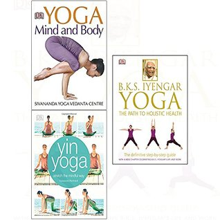 Yoga the path to holistic health[hardcover] mind and body, yin yoga 3 books collection set