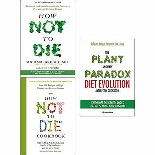 How not to die and cookbook [hardcover] and plant anomaly paradox diet 3 books collection set