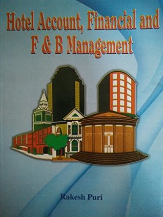Hotel Account, Financial and F & B Management