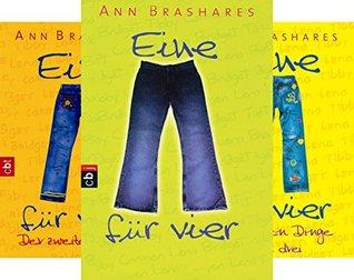 EINE FÜR VIER (The Sisterhood of the Traveling Pants) (Reihe in 5 Bänden)