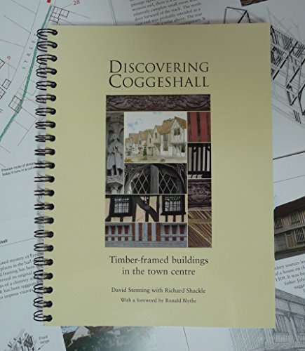 Discovering Coggeshall: Timber-Framed Buildings in the Town Centre