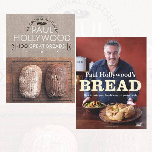 Paul Hollywood Bread Collection 2 Books Bundle (100 Great Breads: The Original Bestseller, Paul Hollywood's Bread)