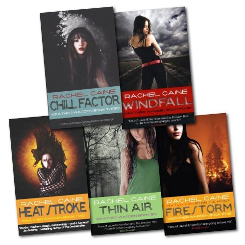 Weather Warden Series 5 Books Collection Set