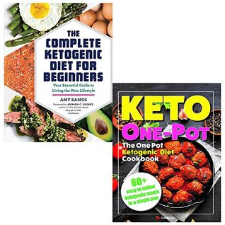 Complete ketogenic diet for beginners and keto one pot diet collection 2 books set
