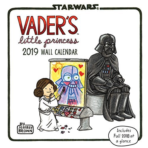 Vader's Little Princess 2019 Wall Calendar