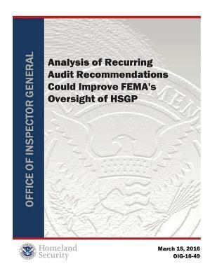 Analysis of Recurring Audit Recommendations Could Improve Fema's Oversight of Hsgp
