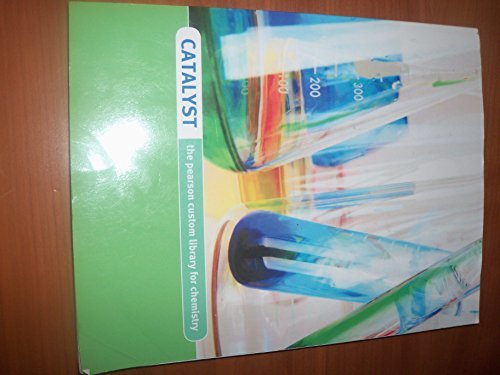 Tro Introductory Chemistry 4th Edition Catalyst the Pearson Custom Library for Chemistry