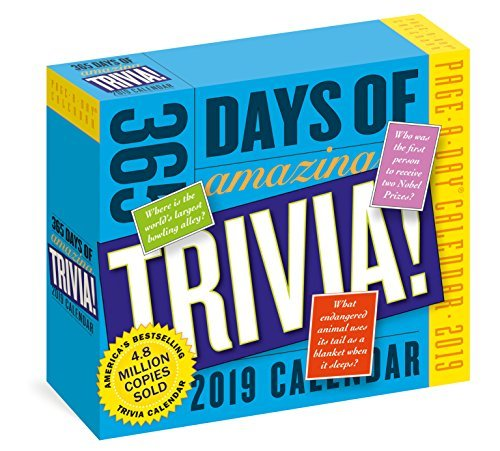 365 Days of Amazing Trivia! Page-A-Day Calendar 2019