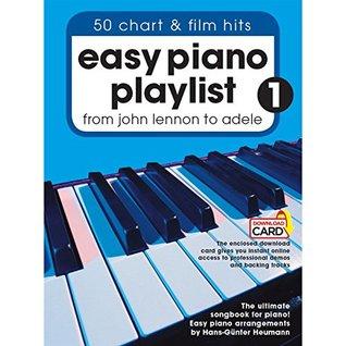 Easy Piano Playlist: Volume 1 (Book/Audio Download)