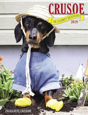 Crusoe the Celebrity Dachshund 2019 Engagement Calendar
