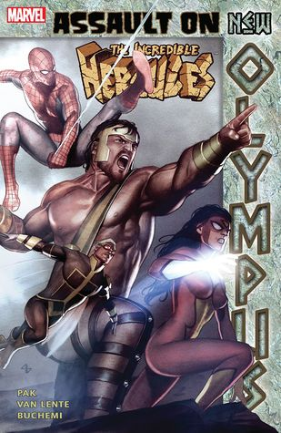 The Incredible Hercules: Assault on New Olympus