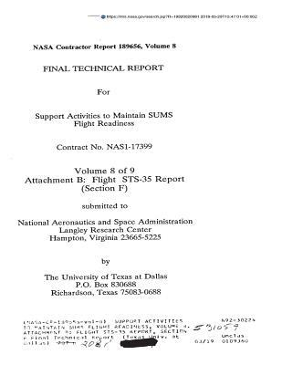 Support Activities to Maintain Sums Flight Readiness, Volume 8. Attachment B: Flight Sts-35 Report, Section F