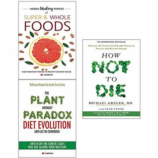 How not to die and anomaly diet and hidden healing powers of super 3 books collection set