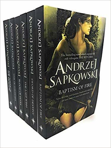 Witcher Series 6 Books Set Collection (The Witcher #1-6)