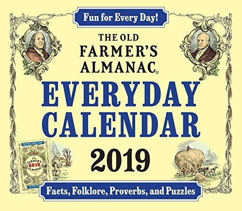 The Old Farmer's Almanac 2019 Everyday Calendar