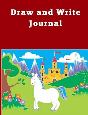 Draw and Write Journal for Kids: Pre-K to Grade 2 (Half Primary Lined with Drawing Space 7.44 X 9.69) Cute Fairy Tale and Castle Journal for Kids