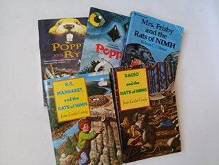 Book Sets for Kids: Poppy, Poppy and Rye, Poppy; Rasco and the Rats of Nimh; R T, Margaret and the Rats of Nimh; Mrs Frisby and the Rats of Nihm (Book Sets for Kids: Grade 3 - 5)