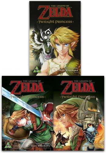 The Legend of Zelda Twilight Princess Vol 1-3 Collection 3 Books Set By Akira Himekawa
