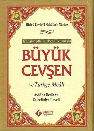 Buyuk Cevsen ve Turkce Meali - Turkce Okunuslu