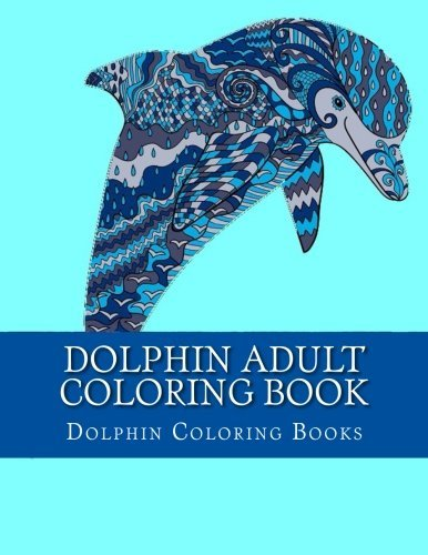 Dolphin Adult Coloring Book