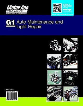 ASE Study Guide DVD G1 Auto Maintenance and Healight Repair Certification by Motor Age Training