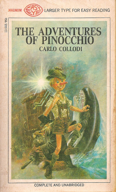 The Adventures of Pinocchio (A Magnum Easy Eye Book - Complete and Unabridged)