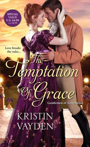 The Temptation of Grace (Gentlemen of Temptation, #3)