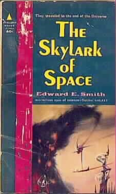 The Skylark of Space (Skylark Series, #1) (Vintage Pyramid SF, F-764)