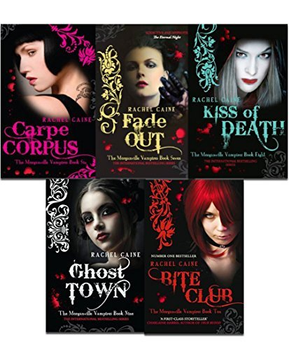 Morganville Vampires, Series 2 By Rachel Caine 5 Books Collection Set