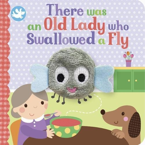 Little Learners There Was an Old Lady Who Swallowed a Fly Finger Puppet Book