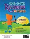 Nine-Note Recorder Method: Easy Music for Beginners