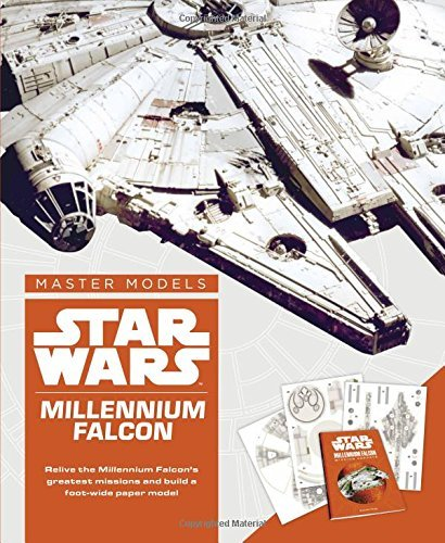 Star Wars Master Models Millennium Falcon: Relive the Millennium Falcon's greatest missions and build a foot-wide paper model