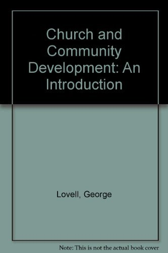 Church and Community Development: An Introduction