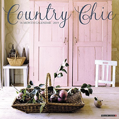 Country Chic 2019 Wall Calendar