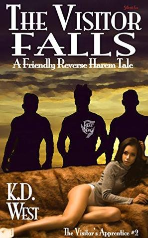 The Visitor Falls: A Friendly Reverse Harem Tale (FMMM interracial) (The Visitor's Apprentice Book 2)