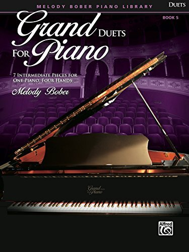 Grand Duets for Piano, Book 5: 7 Intermediate Pieces for One Piano, Four Hands