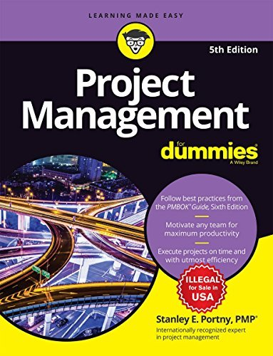 Project Management For Dummies, 5ed