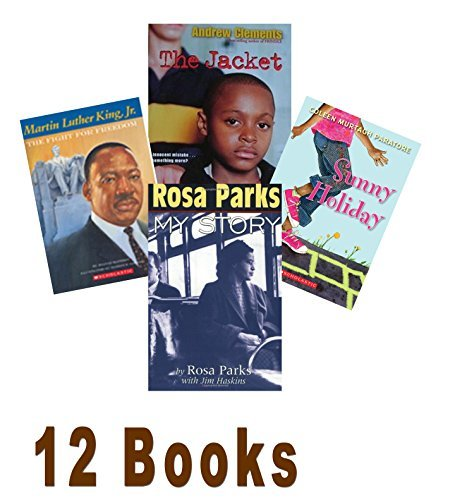 African American Collection (Grade 3-5): Abby Takes a Stand; the Jacket; Sunny Holiday; Rosa Parks, My Story; Washington City Is Burning; Scholastic Biography George Washington Carver