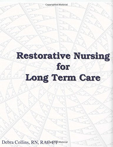 Restorative Nursing Care Plans - Book and CD