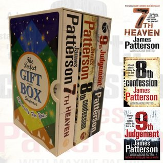 James Patterson Women's Murder Club (7-9) Series Collection 3 Books Bundle Gift Wrapped Slipcase Specially For You