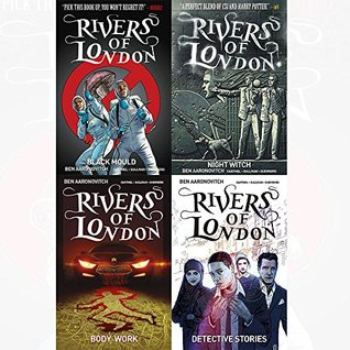 Ben aaronovitch rivers of london series books collection pack set
