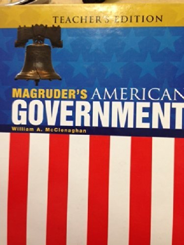 Magruders American Government--Teacher's Edition