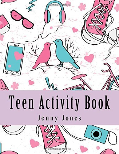 Teen Activity Book: Large Print Adult Activity Book With Mazes, Coloring, Word Search, Dot To Dot and Sudoku (Activity Book For Teens)