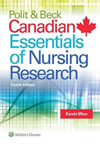 Polit & Beck Canadian Essentials of Nursing Research