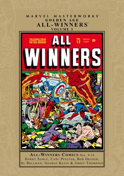 Marvel Masterworks: Golden Age All-Winners, Vol. 3
